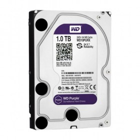 Твърд диск WD Purple 1TB 7200/SATA3/64MB