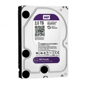Твърд диск Western Digital Purple 2TB 64MB 7200rpm SATA3, WD20PURX