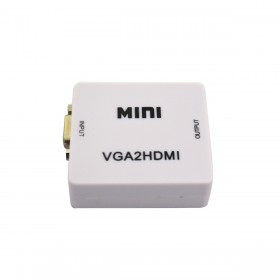 VGA TO HDMI Converter + Audio