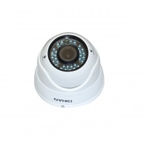 AHD камера, куполна, 1/2.7`` HD CMOS, 2.0MP, 1080P, 2.8-12mm, IR-30 - QIHAN QH-4406OC-N