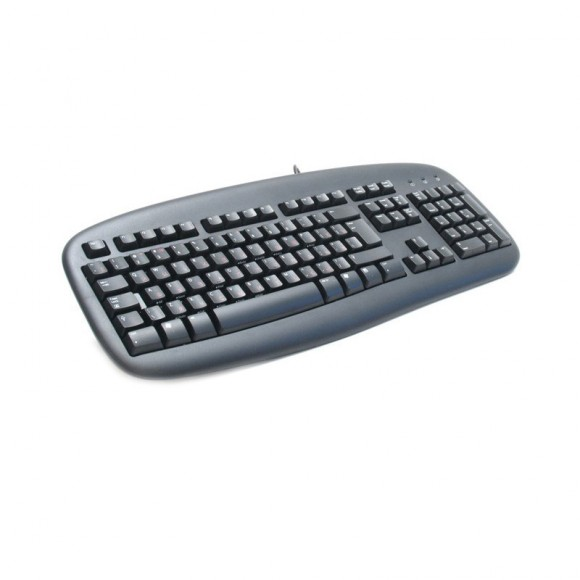 Клавиатура Logitech Value Keyboard, Black, PS/2