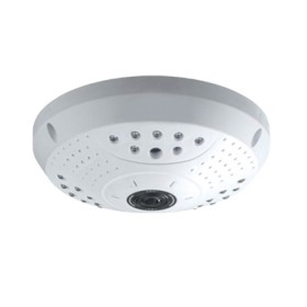 "Панорамна IP камера (fisheye), 1/3"" CMOS, 1.3MP, 1.44мм, 360 градуса, IR-15m,  Audio, POE - Privileg UP-366A"
