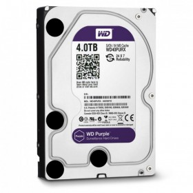Твърд диск Western Digital Purple 4TB 64MB 7200rpm SATA3, WD40PURX