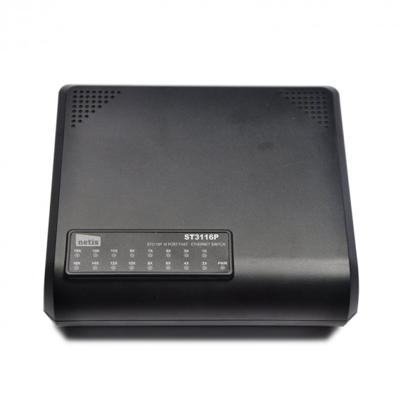 16-port Fast Ethernet комутатор NETIS ST-3116P