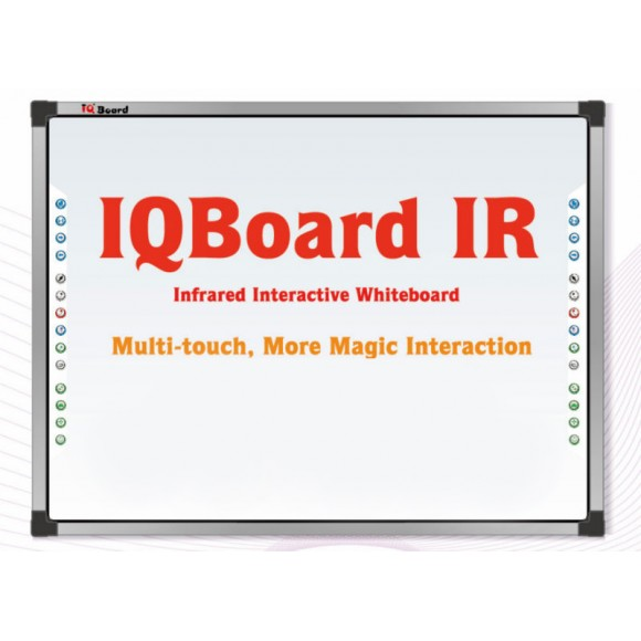 "Интерактивна дъска IQBoard IRQK 87"" Ten Touch Infrared Technology"