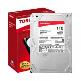 Твърд диск TOSHIBA P300 - High-Performance 1TB (7200rpm/64MB)