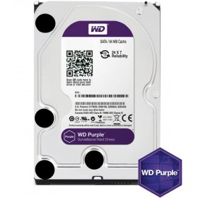 Твърд диск WD Purple 3TB 7200/SATA3/64MB