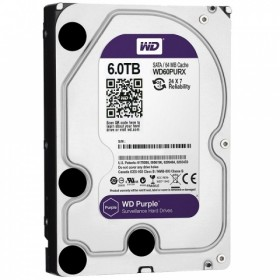 Твърд диск WD Purple 6TB 7200/SATA3/64MB