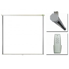 "Екран PRIVILEG ELECTRIC 100"", 2.0x1.5m, 4:3, Matte White, RF Remote, roll up down"
