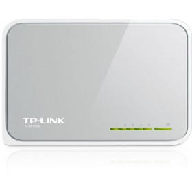 Комутатор TP-LINK TL-SF1005D, 5 port, 100Mbit
