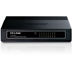 TP-LINK TL-SF1016D, 16-Port 10/100Mbps Desktop Switch