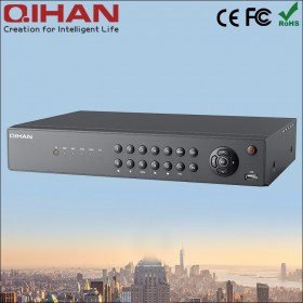 Aналогов HD (AHD) видеорекордер 16-канален, 1080P, H264, HDMI, VGA, LAN, до 12TB HDD - QIHAN QH-D8216AM